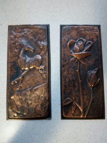 Metaloplastie de cupru   30cm /15cm 50lei bucata
