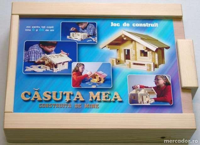 Joc de construit - CASUTA MEA