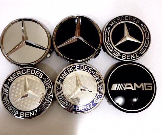 Capace jante aliaj Mercedes 75mm