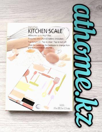 Кухонные весы стеклянные