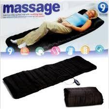 Saltea pentru masaj cu incalzire Massage 9, telecomanda