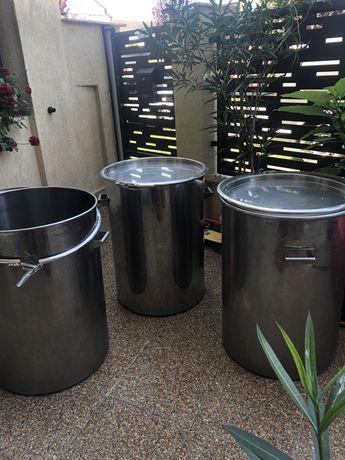 Bidoane inox alimentar 200 litri