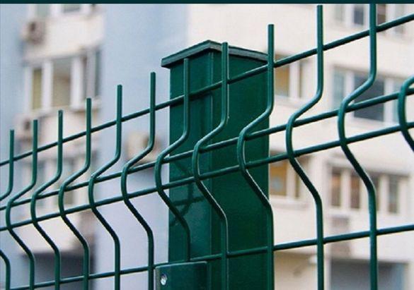 Оградни пана,колове,портали, декоративна оградна мрежа