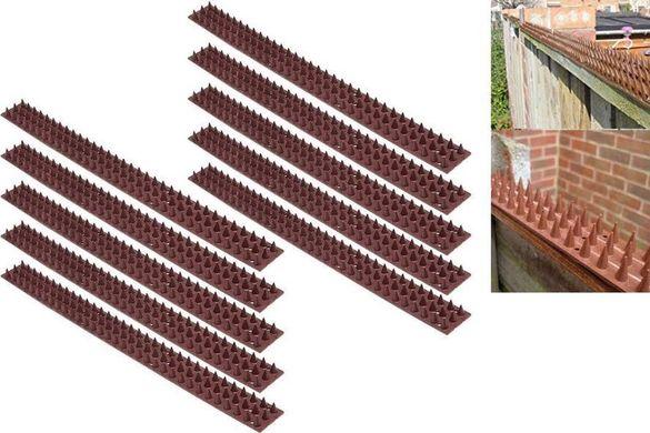 Шипове за ограда против натрапници и животни. Комплект от 10 бр.