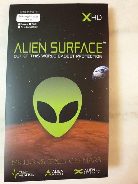 Folie Alien Surface HD Samsung Galaxy S9 Plus + Spate si laterale .