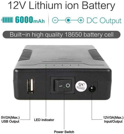 Baterie externa cu DC Output