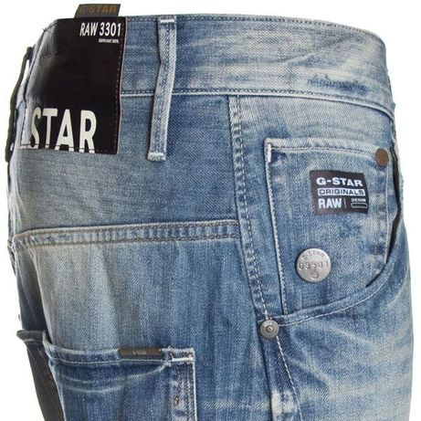 G-Star Raw Arc 3D Loose Tapered Blue