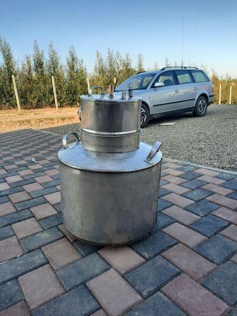 Cazan inox sudate cu argon 102 lit