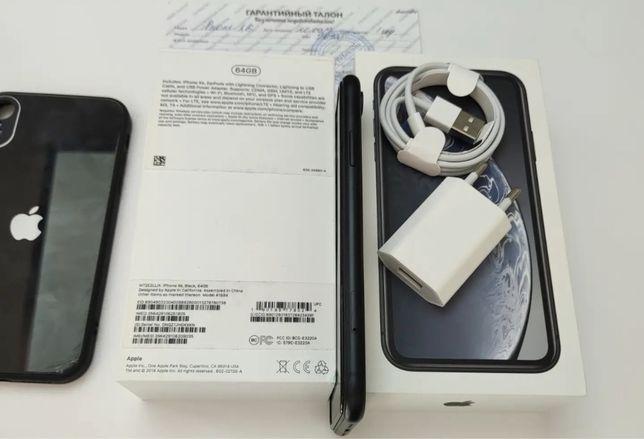 В РАССРОЧКУ Apple iPhone XR 64GB BLACK черный цвет