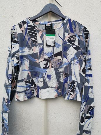 Жестока дамска блуза оригинална Nike just do it Хл размер