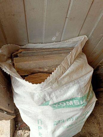 Продам дрова мешками