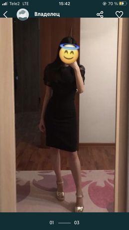 Черное платье. Размер 42-44. Цена:7.000