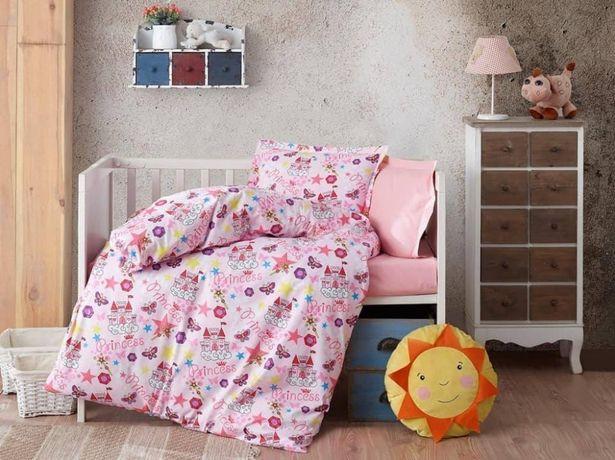 Lenjerie de pat copii / bebe Bumbac 100%