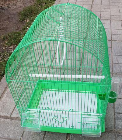Клетка за папагали птици малка M объл покрив 000101 за 1 или няколко
