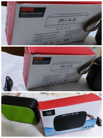 Boxa bluetooth cu slot micro SD și slot ptr stick usb