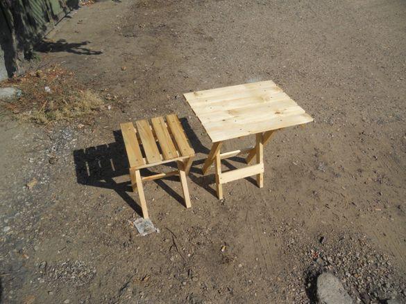 Туристическа маса и кошери