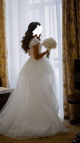 Продам свадебное платье-трансформер