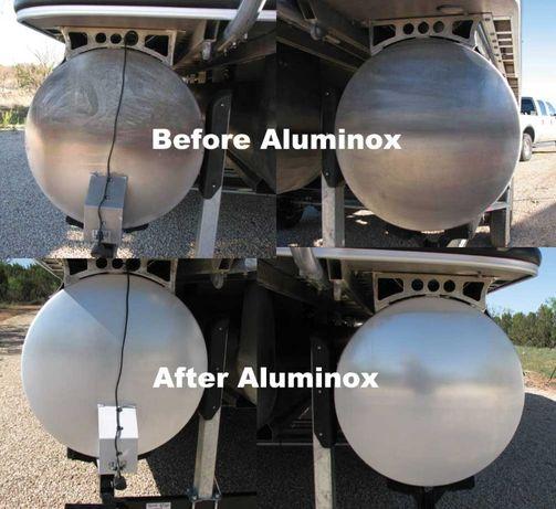 Acid curatat alu.Solutie curatat aluminiu puternica 22kg-1L+8Lapa+tva.