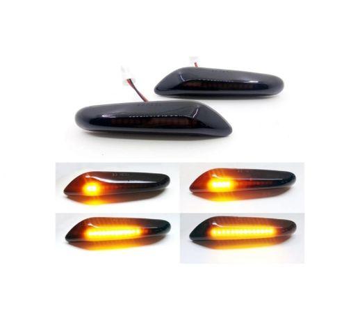 Lampa Semnalizare Secventiala Dinamic BMW LED Aripa Stanga/Dreapta Set