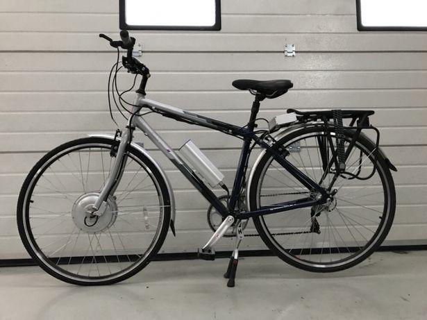 Bicicleta Electrica PowaByke 24 Viteze Noua Cadru Aluminiu Negru