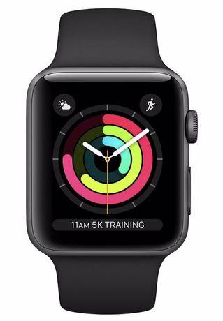 Смарт часы Apple Watch Series 3  38mm Space Grey Aluminium Case wit