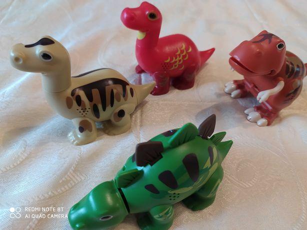 Dino family toys