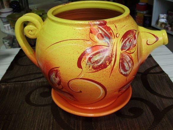 Саксии - декоративна ръчно рисувана керамика