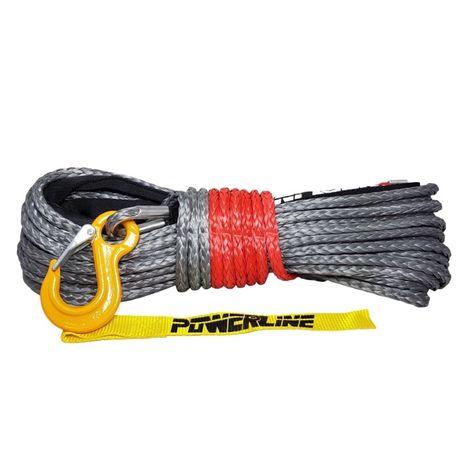 "Cablu sintetic,sufa,plasma,troliu-28m/8mm,9mm,10mm/""Power Line""carlig"