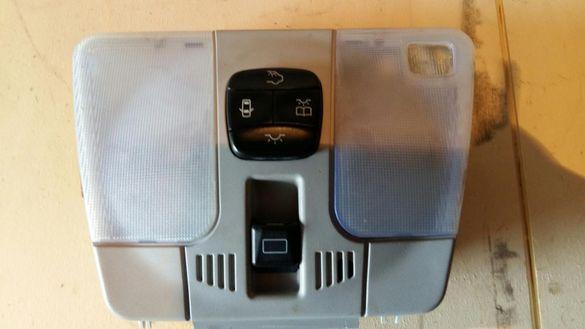 Плафон с управление за сензори и ел люк за мерцедес w210