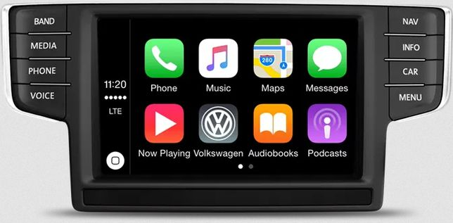 Activare CarPlay Android Auto Audi A6 VW Passat Golf Waze AppConnect