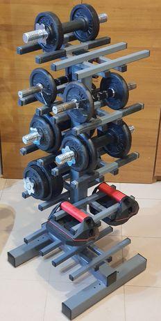 Stativ compact  10 gantere