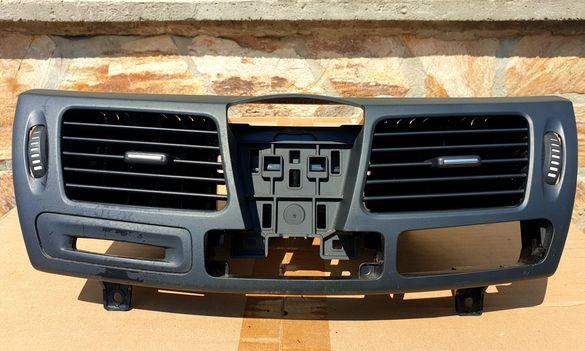 Панел въздуховод среден, черен за Renault Laguna 3 GrandTour