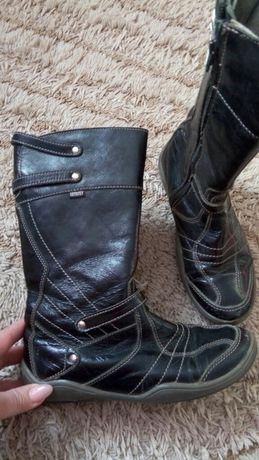 34-35 осень кожа.сапоги,туфли ботинки Пришахтинск