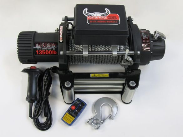 Лебедка за пътна помощ Hunter Winch Magnum 13500 12V с 2 г. гаранция