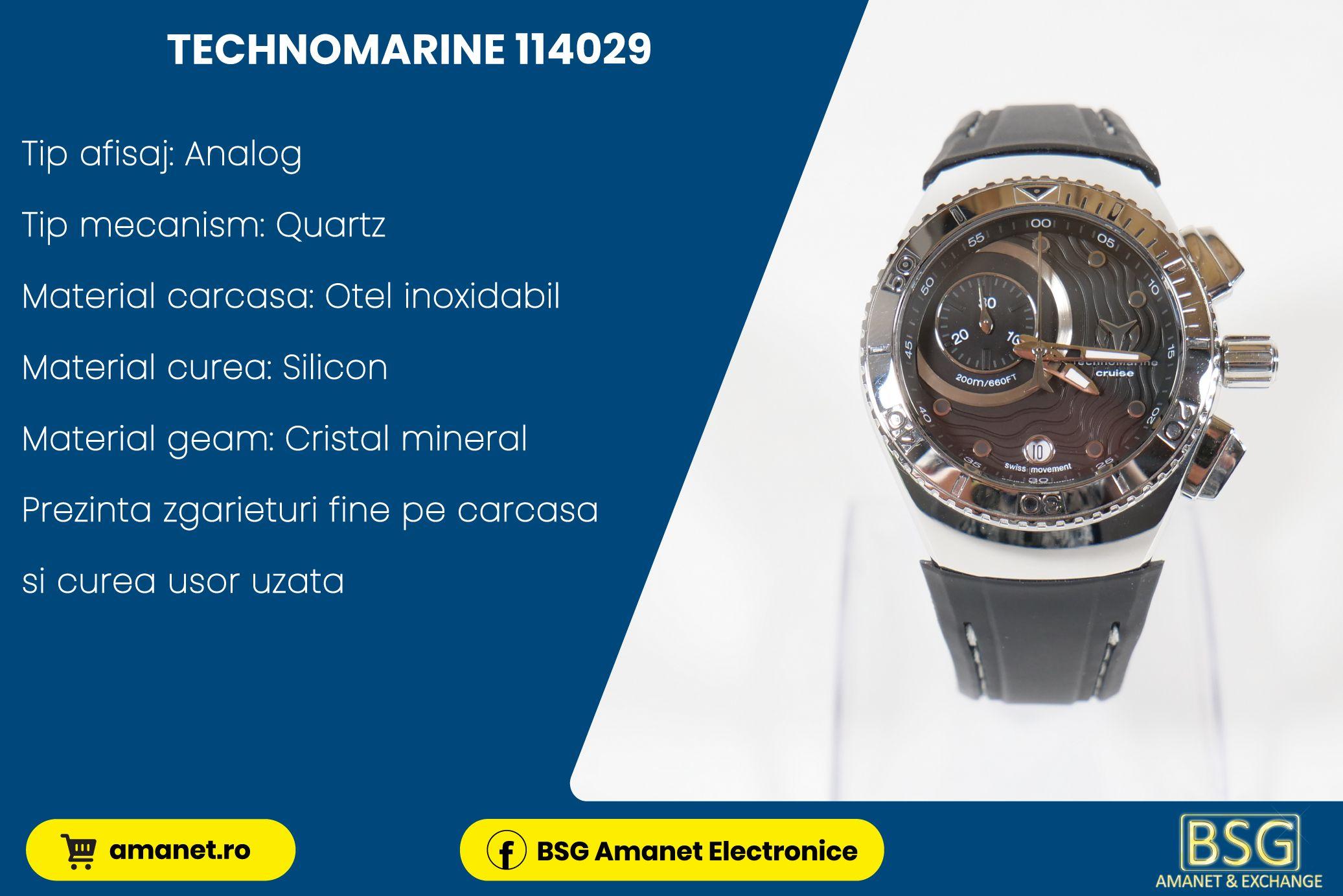 Ceas Technomarine 114029 - BSG Amanet & Exchange
