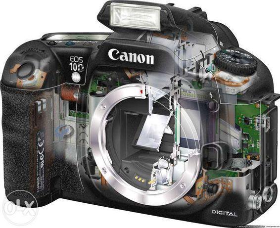Ремонт фотоаппаратов, видеокамер, проекторов. Восстановление данных.