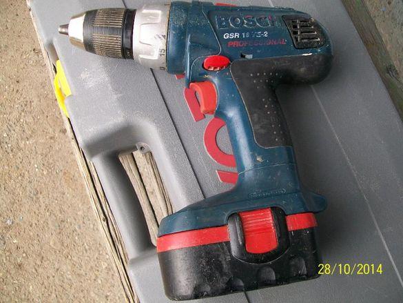 Професионален Bosch Gsr 18 ve 2 само боди