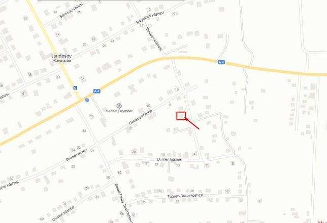Земельной участок 5 соток, село Жандосово (Жандосов)