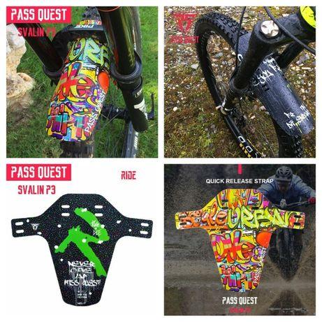 pass quest калник за велосипед mtb dh 25 грама байк колело fender