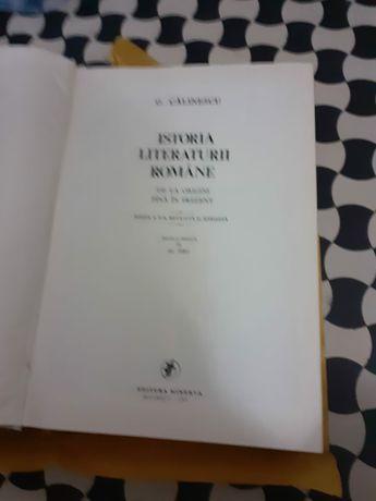 Istoria Literaturii Române