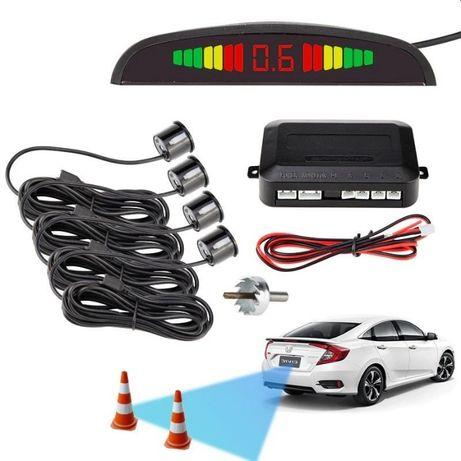 Senzori parcare cu display LED Negrii
