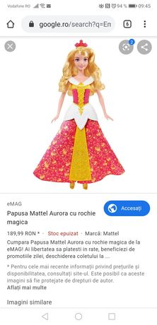 Papusa Barbie printesa Aurora