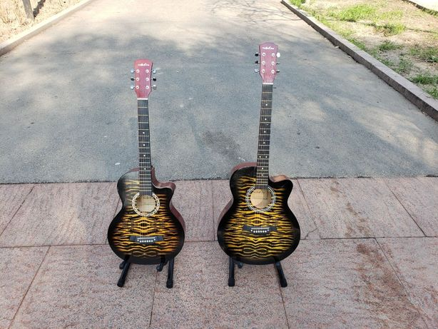 Акустическая гитара T-R381. Супер дизайн! Алматы.