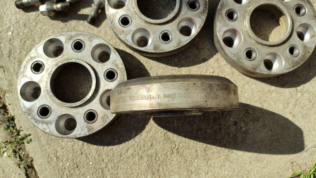 Flanșe distanțiere adaptoare 40 mm de la 5x120 la 5x112