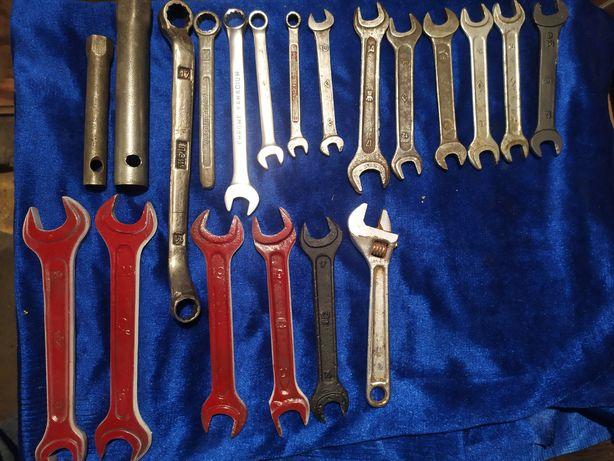 Продам ключи рожковые накидные