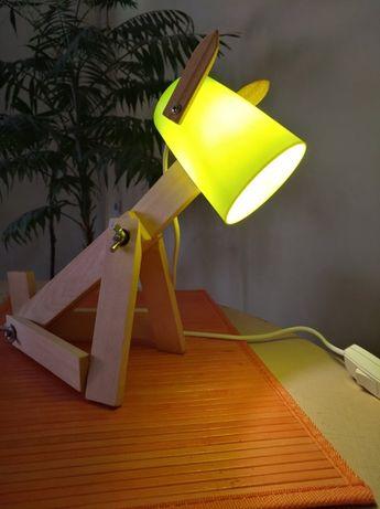 Настолна лампа Куче и още модели - ръчна изработка