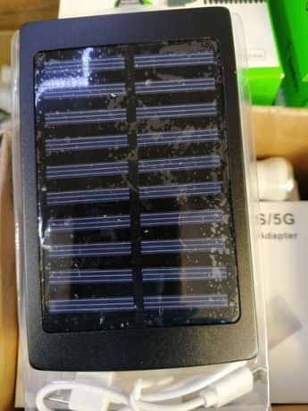 Соларно зарядно, соларна батерия,Power Bank 60000mAh, за телефон, табл