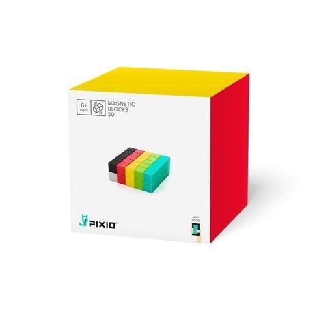 Set joc constructii magnetice PIXIO-50,50 piese, aplicatie iOS/Android