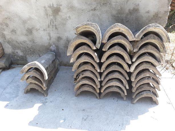 Cupe din beton ptr acoperis/coama