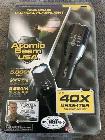 Ультра-яркий противоударный фонарь Atomic Beam светодиод Cree T6
